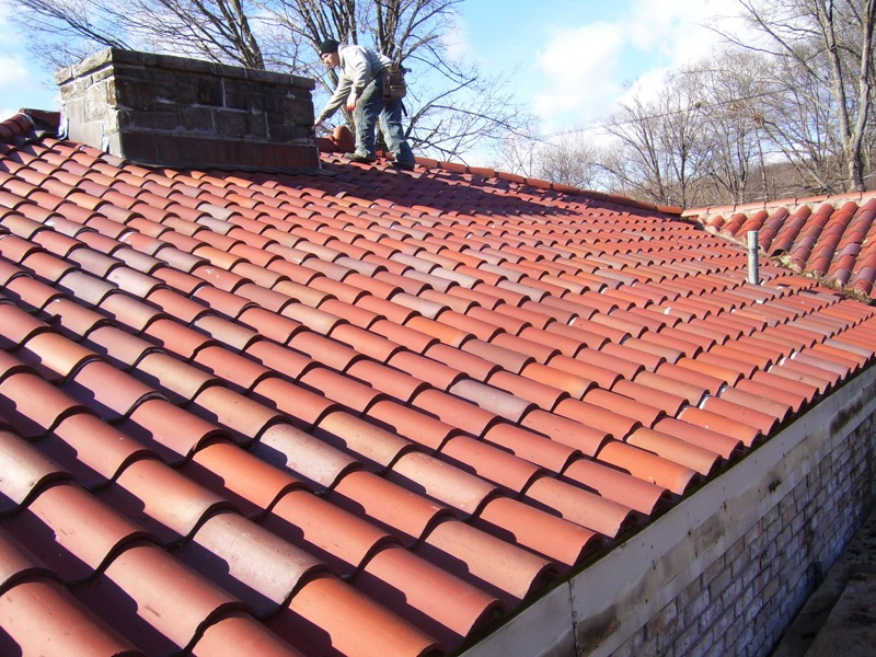Matthew roofing for Spanish tile roofs