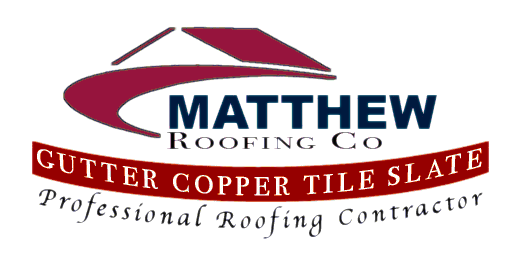 Matthew Roofing Co. Logo